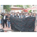 BDPLİLER 12 PKKLI İÇİN PROTESTO YÜRÜYÜŞÜ DÜZENLEDİ