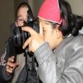 ELLERİNE ALDIKLARI FOTOĞRAF MAKİNELERİ İLE BOL BOL FOTOĞRAF ÇEKEN MİNİKLER, İLERDE GAZETECİ OLACAKLARININ İLK SİNYALİNİ VERDİLER